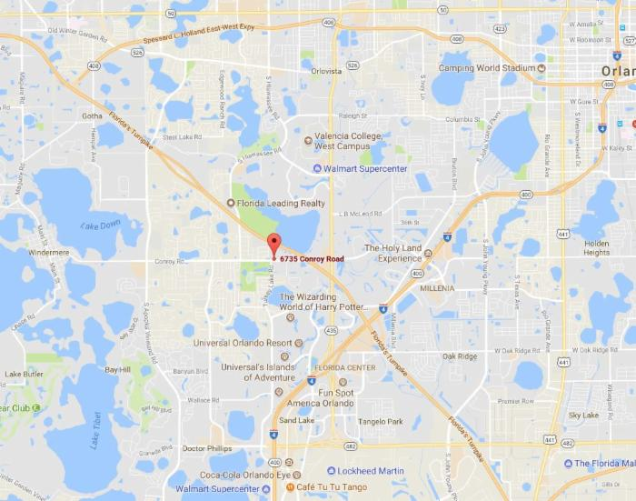 Location - Therapy Orlando Florida FL, Therapy Windermere ...